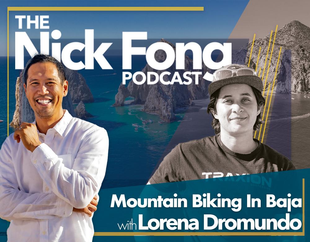 See Nick Fong's guest Lorena Dromundo reveal downhill mountain biking